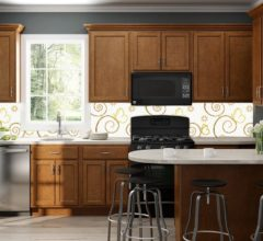 Mosaic Beige backsplash